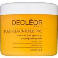 Decléor Relax Intense relaxačný masážny balzam s esenciálnymi olejmi  500 ml