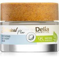 Delia Cosmetics Botanical Flow Coconut Oil denný a nočný krém s hydratačným účinkom  50 ml