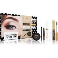 Delia Cosmetics Eyebrow Expert Brown darčeková sada V. (na obočie) pre ženy