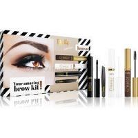 Delia Cosmetics Eyebrow Expert Brown kozmetická sada IV. (na obočie) pre ženy