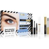 Delia Cosmetics Eyebrow Expert Light Black kozmetická sada III. (na obočie)