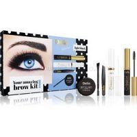 Delia Cosmetics Eyebrow Expert Light Black kozmetická sada na obočie