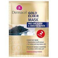 Dermacol Gold Elixir pleťová maska s kaviárom 2x8 g