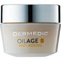 Dermedic Oilage Anti-Ageing vyživujúci denný krém pre obnovu hutnosti pleti 50 g