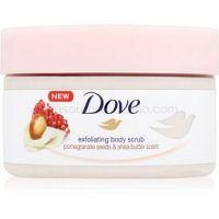 Dove Exfoliating Body Scrub Pomegranate Seeds & Shea Butter ošetrujúci telový peeling  225 ml