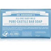 Dr. Bronner's Baby-Mild tuhé mydlo bez parfumácie  140 g