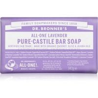Dr. Bronner's Lavender tuhé mydlo 140 g