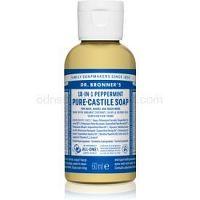 Dr. Bronner's Peppermint tekuté univerzálne mydlo 60 ml