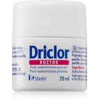 Driclor Solution antiperspirant roll-on proti nadmernému poteniu 20 ml