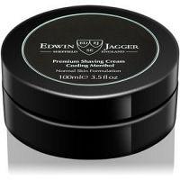 Edwin Jagger Cooling Menthol krém na holenie pre normálnu pleť 100 ml