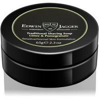 Edwin Jagger Limes & Pomegranate mydlo na holenie pre zmiešanú pleť 65 g
