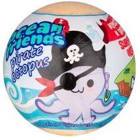 EP Line Ocean Friends šumivá guľa do kúpeľa s figúrkou 140 g