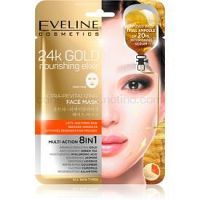 Eveline Cosmetics 24k Gold Nourishing Elixir liftingová maska 1 ks