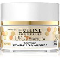 Eveline Cosmetics Bio Manuka spevňujúci a vyhladzujúci krém 50+ 50 ml