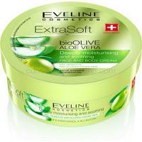 Eveline Cosmetics Extra Soft hydratačný a ukľudňujúci krém pre citlivú pokožku Bio Olive & Aloe Vera 175 ml
