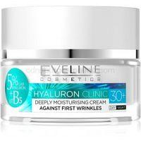 Eveline Cosmetics Hyaluron Clinic hydratačný denný a nočný krém 30+  50 ml