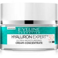 Eveline Cosmetics Hyaluron Expert denný a nočný krém 30+ SPF 8  50 ml