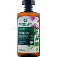 Farmona Herbal Care Burdock šampón pre mastnú vlasovú pokožku a suché končeky 330 ml