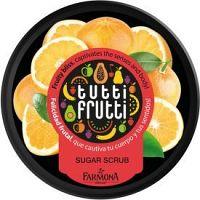 Farmona Tutti Frutti Grapefruit telový peeling s cukrom 160 g