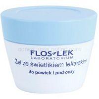 FlosLek Laboratorium Eye Care gél na očné okolie s očiankou  10 g