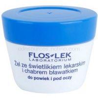 FlosLek Laboratorium Eye Care gél na očné okolie s očiankou a nevädzou  10 g