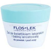 FlosLek Laboratorium Eye Care gél na očné okolie so skorocelom a očiankou  10 g