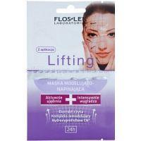 FlosLek Laboratorium Lifting Immediate pleťová maska s remodelujúcim účinkom 2 x 5 ml