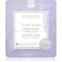 FOREO UFO™ Youth Junkie intenzívne vyyživujúca maska s protivráskovým účinkom  6 x 6 g