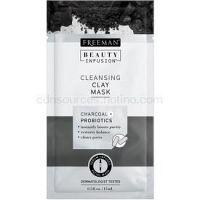 Freeman Beauty Infusion Charcoal + Probiotics čistiaca ílová pleťová maska 15 ml