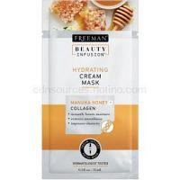 Freeman Beauty Infusion Manuka Honey + Collagen hydratačná krémová maska pre normálnu až suchú pleť 15 ml