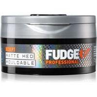 Fudge Sculpt Matte Hed Mouldable tvarovací krémový íl na vlasy   75 g