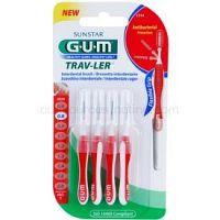G.U.M Trav-Ler medzizubné kefky 4 ks 0,8 mm 4 ks