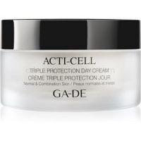GA-DE Acti-Cell krém s trojitým účinkom pre normálnu až zmiešanú pleť 50 ml
