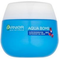 Garnier Skin Naturals Aqua Bomb regeneračný antioxidačný gélový krém na noc 50 ml