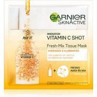 Garnier Skin Naturals Fresh Mix Mask Vitamin maska pre suchú pleť 33 g