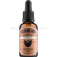 Golden Beards Toscana olej na bradu  30 ml
