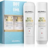 Goldwell Dualsenses Rich Repair kozmetická sada (pre suché a poškodené vlasy)