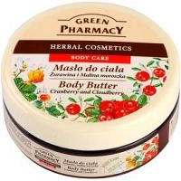 Green Pharmacy Body Care Cranberry & Cloudberry telové maslo  200 ml