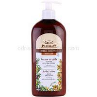 Green Pharmacy Body Care Olive & Argan Oil výživné telové mlieko s hydratačným účinkom 500 ml
