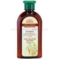 Green Pharmacy Hair Care Birch Tar & Zinc šampón proti lupinám 350 ml