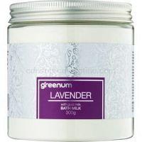 Greenum Lavender mlieko do kúpeľa v prášku 300 g