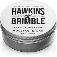 Hawkins & Brimble Natural Grooming Elemi & Ginseng vosk na bradu 50 ml