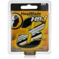 HeadBlade HB3 náhradné žiletky 4 ks