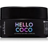 Hello Coco Sweet Mint aktívne uhlie na bielenie zubov  30 g