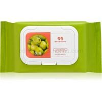 Holika Holika Daily Fresh Olive odličovacie obrúsky k odstráneniu odolného a vodeodolného  make-upu 60 ks