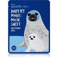 Holika Holika Magic Baby Pet plátenná maska s rozjasňujúcim účinkom 22 ml