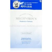 Holika Holika Mechnikov's Probiotics Formula rozjasňujúca plátienková maska 25 ml