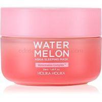 Holika Holika Watermelon Mask intenzívna nočná maska pre rýchlu regeneráciu suchej a dehydrovanej pleti
