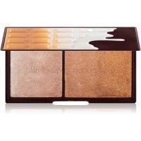 I Heart Revolution Mini Chocolate Bronze And Shimmer rozjasňujúca a bronzujúca paletka  11 g