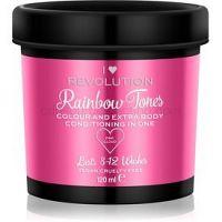I Heart Revolution Rainbow Tones vymývajúca sa farba na vlasy   odtieň Pink Cloud 120 ml